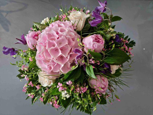 Bouquet rond été