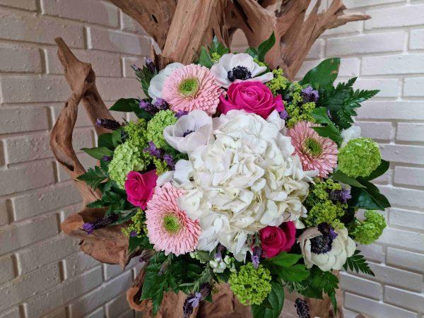 Bouquet rond printemps
