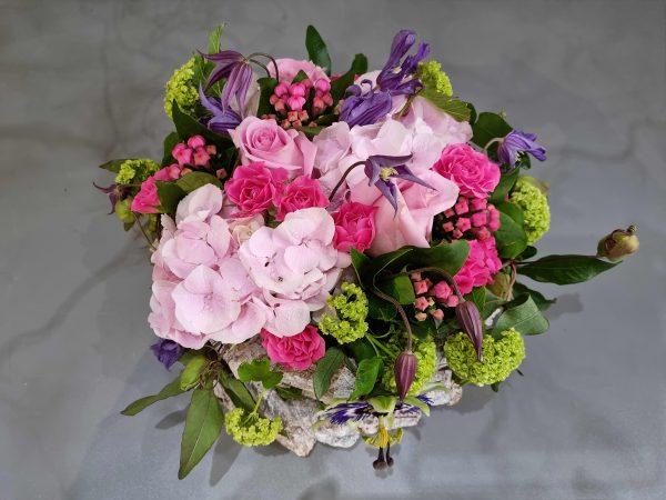 commposition fleurie