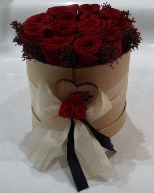écrin de roses